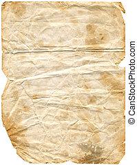 envelhecido, papel, 2, (path, included)