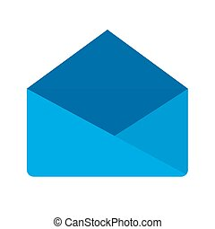 Envelop - E-mail, mail, internet icon vector image. Can also...