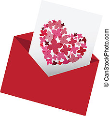 envelop with love letter