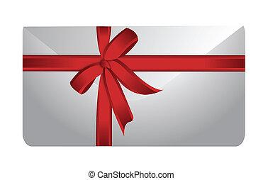 envelope and ribbon illustration
