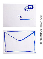 envelope both sides