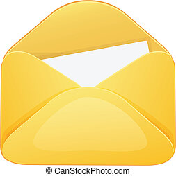 Envelope Cartoon Icon