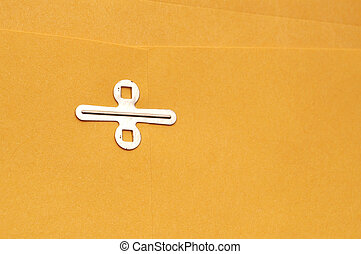 envelope clasp room for copy