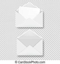 Envelope Collection Transparent Background