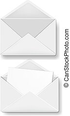 Envelope Collection White Background