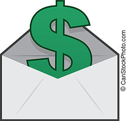 Envelope Dollar Sign