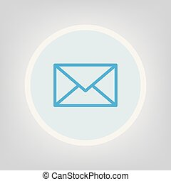 envelope, e-mail icon
