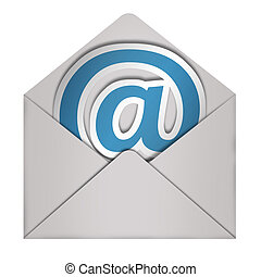 Envelope Email sign