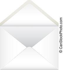envelope - open envelope