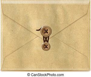 Envelope From Old Paper
