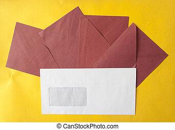 envelope, greeting card or invitation mailing.