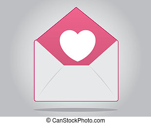 Envelope Heart