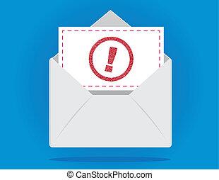 envelope, importante