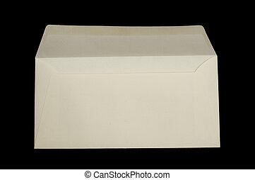 Envelope isolated - White envelope isolated