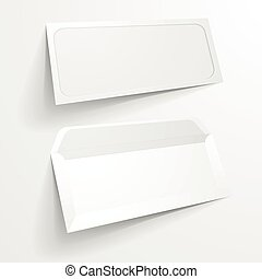 envelope, janela