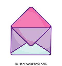 envelope mail message letter correspondence icon
