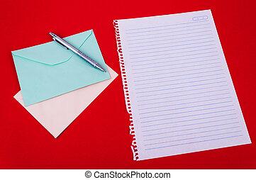 envelope of correspondence
