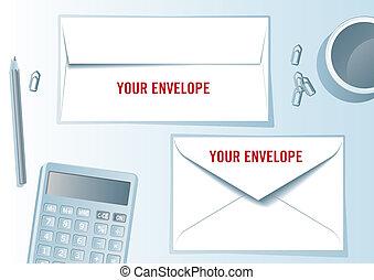 Envelope presentation format.