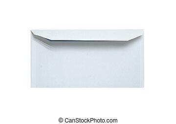 Envelope isolated