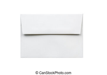 Envelope isolated on a white background