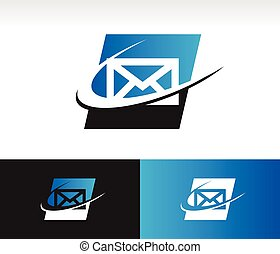 Envelope Swoosh Icon
