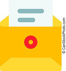 envelope with document