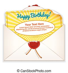 Envelope with Greeting Card