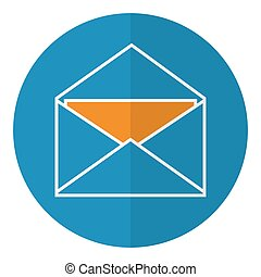 Envelope with letter icon.