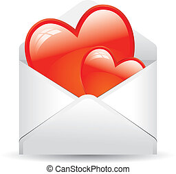 envelope with love
