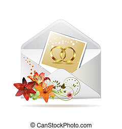 Envelope with photo