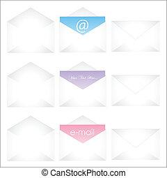 Envelopes Illustration