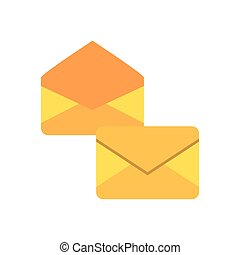 envelopes mail postal service icon