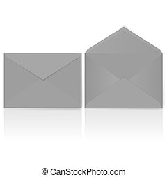 Envelopes - Open and Closed