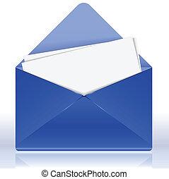 enveloppe bleue bleu illustration enveloppe papier vecteur eps rechercher des clip art. Black Bedroom Furniture Sets. Home Design Ideas