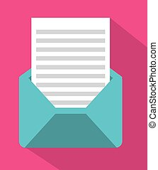 enveloppe, courrier