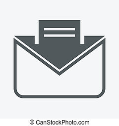 enveloppe, lettre