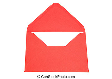 enveloppe, rouges
