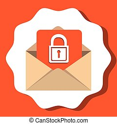 enviando, eletrônico, email, comunicações