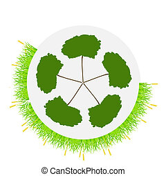 Environment Abstract Background