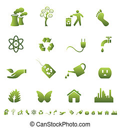Environment and ecology symbols