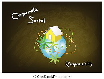 Environment Conservation with Corporate Social Responsibility Concepts