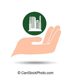environment friendly city concept vector illustration eps 10