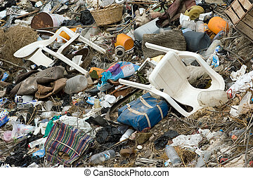 environment pollution - important nature trash pollution ...