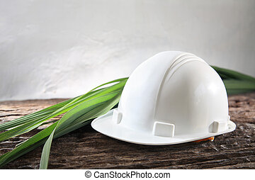 environmental friendly industry - Concept shot of...