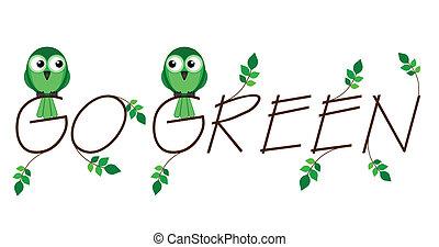 Environmental go green