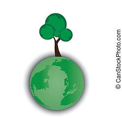 environmental icon illustration