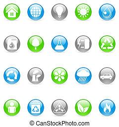 Environmental icons.