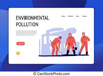 Environmental Pollution Banner