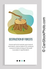 Environmental Problem, Deforestation and Ax App