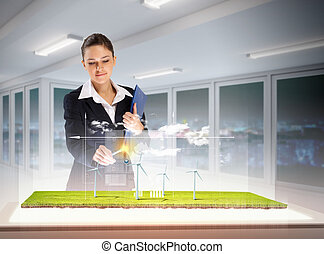 Environmental problems and high-tech innovations - Image of ...